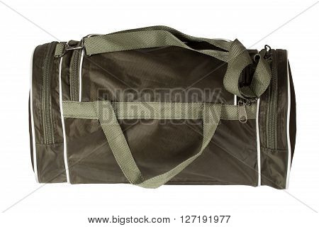 Sports bag. Isolation on a white background