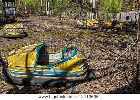 Amusement Park In Pripyat, Chernobyl