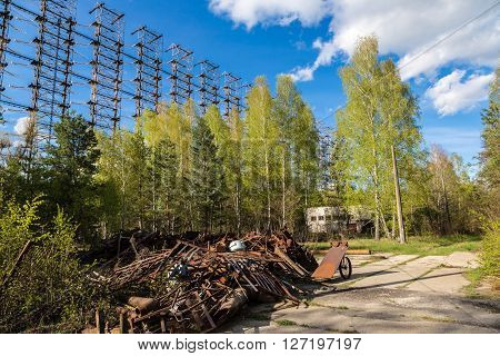 Radar System Duga-3 In Chernobyl