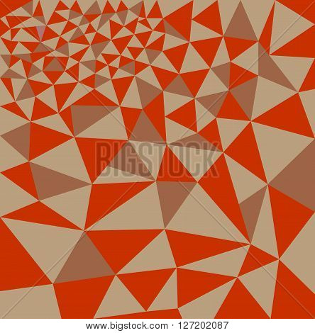 Polygon background triangular pattern color mosaic patchwork retro background