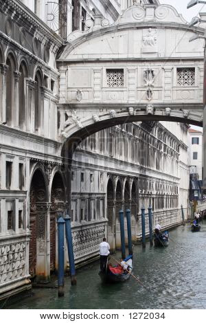 Bridge Of Sighs Venice Italy