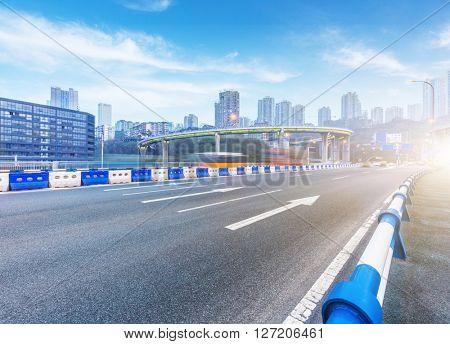 chongqing highway,china.