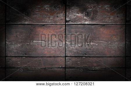 Wooden background spotlight