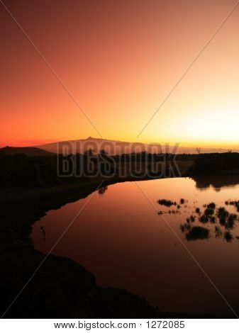 Mount Kenya Sunrise