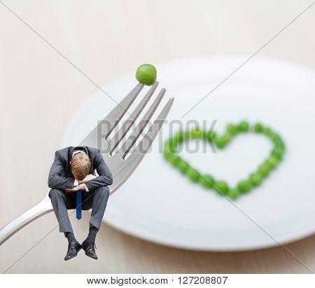 Boring diet as a concept