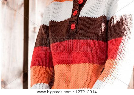 Female Chest In Sweater