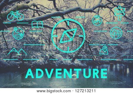 Adventure Destination Experience Journey Travel Concept