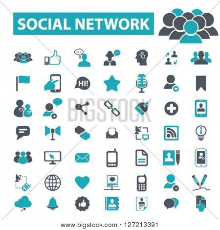 social network icons