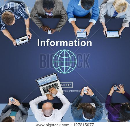 Business Team Connection Technology Networking Concept