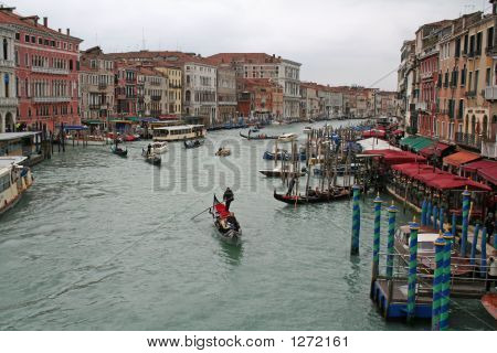 Canal Grande Venice Italy