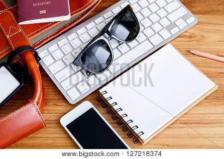 Travel Booking And Planning Concept