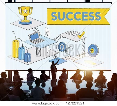 Success Mission Process Goal Planning Concept