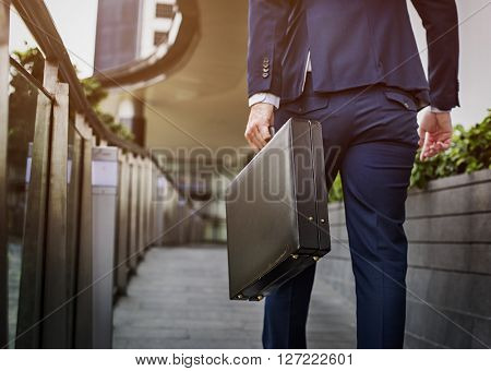 Businessman Office Worker Working Concept