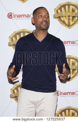 LAS VEGAS - APR 12:  Will Smith at the Warner Bros. Pictures Presentation at CinemaCon at the Caesars Palace on April 12, 2016 in Las Vegas, CA