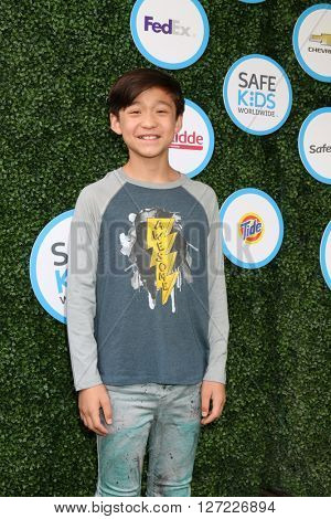 LOS ANGELES - APR 24:  Forrest Wheeler at the Safe Kids Day at the Smashbox Studios on April 24, 2016 in Culver City, CA