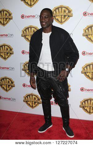 LAS VEGAS - APR 12:  Adewale Akinnuoye-Agbaje at the Warner Bros. Pictures Presentation at CinemaCon at the Caesars Palace on April 12, 2016 in Las Vegas, CA