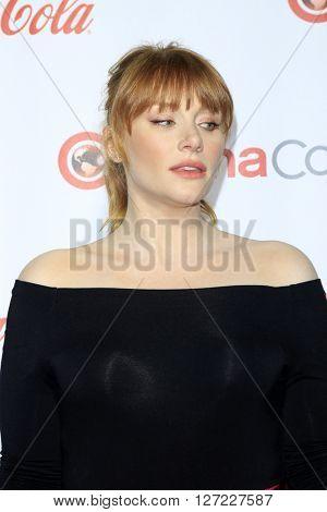 LAS VEGAS - APR 14:  Bryce Dallas Howard at the CinemaCon Awards Gala at the Caesars Palace on April 14, 2016 in Las Vegas, CA