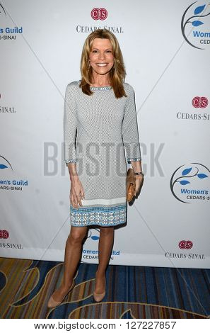 LOS ANGELES - APR 14:  Vanna White at the 2016 Women's Guild Cedar-Sinai Annual Spring Luncheon at the Beverly Wilshire Hotel on April 14, 2016 in Beverly Hills, CA