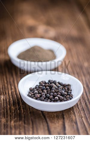 Black Pepper (milled)
