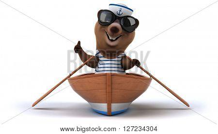 Fun bear