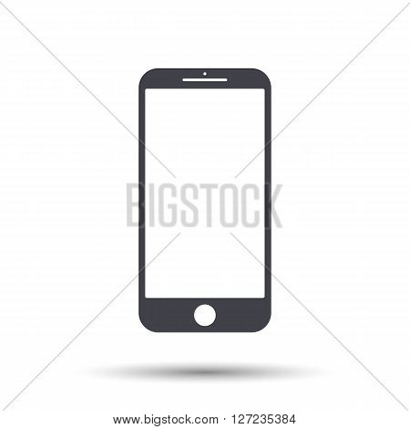 Mobile Mockup Icon. Mobile Vector Icon, Phone Icon Illustration, Mobile Icon Eps. Mobile Icon Flat.