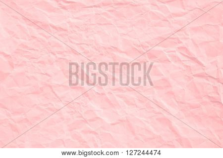 Rose Quartz Crumpled Paper Texture