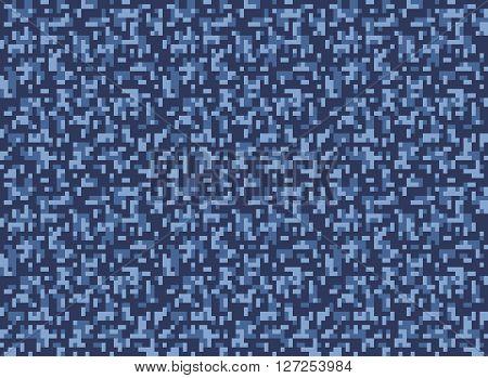 city winter camouflage seamless pixel pattern vector illustration
