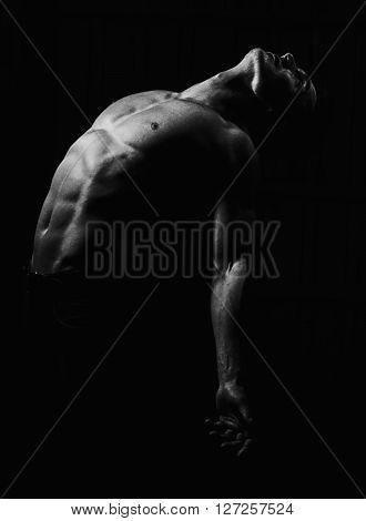 Muscular Sexy Man
