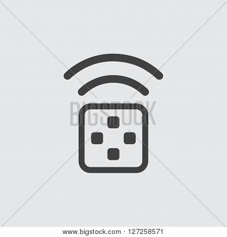 Transmitter icon illustration isolated vector sign symbol