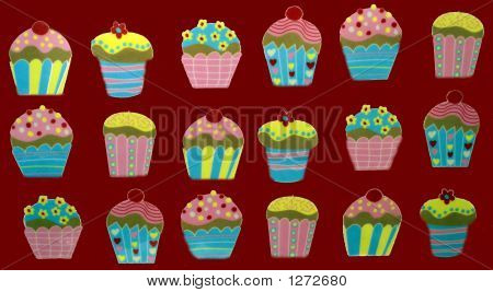 Cup Cakes. Fairy Cakes. Cake Decoration