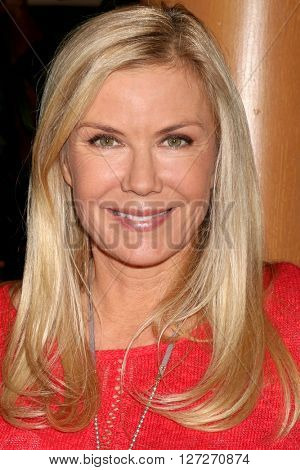 LOS ANGELES - APR 25:  Katherine Kelly Lang at the Bold and Beautiful Emmy Nominees Celebration at the CBS Television City on April 25, 2016 in Los Angeles, CA
