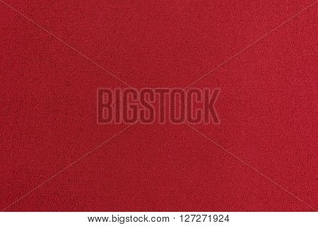 Eva foam ethylene vinyl acetate red surface sponge plush background