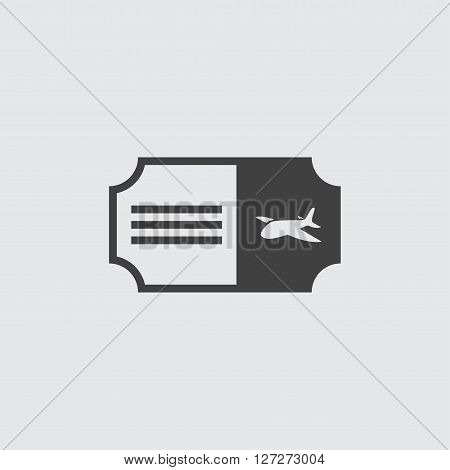 Air ticket icon illustration isolated vector sign symbol