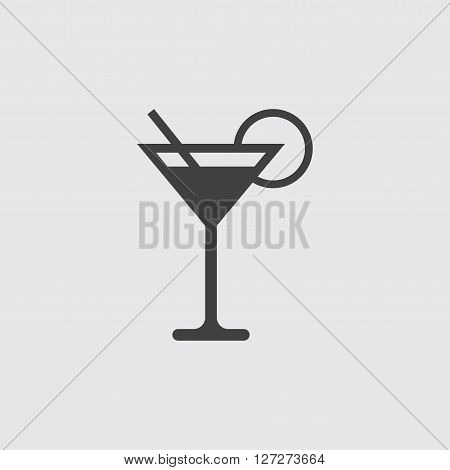 Coctail icon illustration isolated vector sign symbol