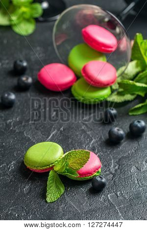French Cookies Macaroons