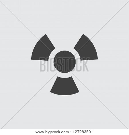 Radiation icon illustration isolated vector sign symbol