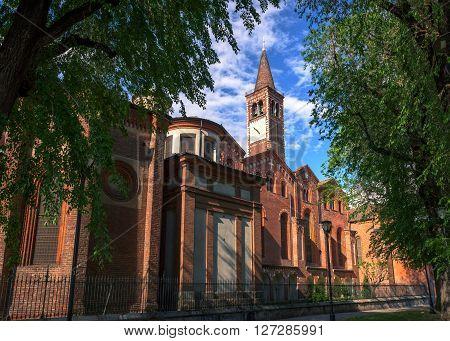 Basilica of Sant Eustorgio Milan , Italy