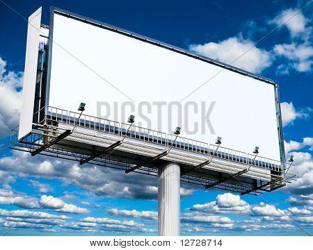 Billboard Message Poster