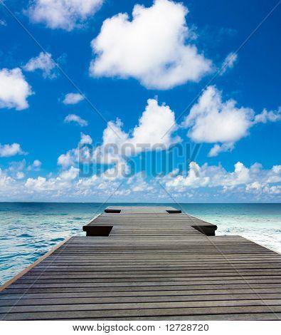 Horizonte del paisaje marítimo
