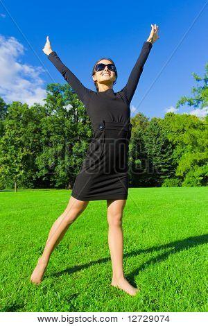 Meadow Outdoor Laughter