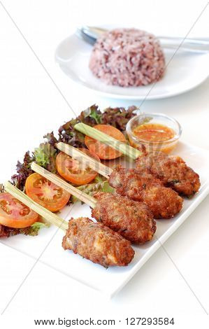 Fry Minced Pork