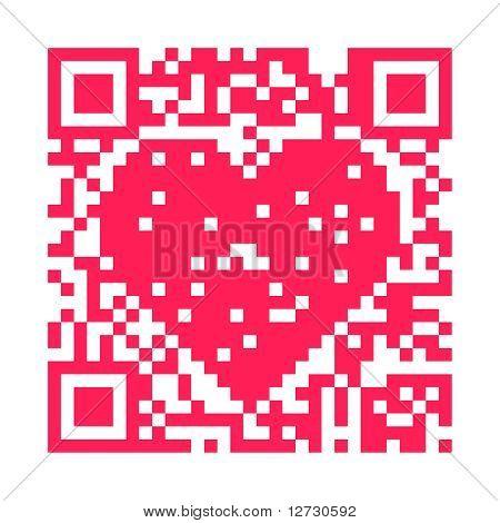 QR code - Heart