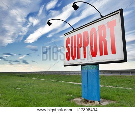 support desk icon or online help desk technical assitance and customer service