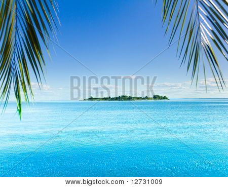 Fantasy Landscape Island