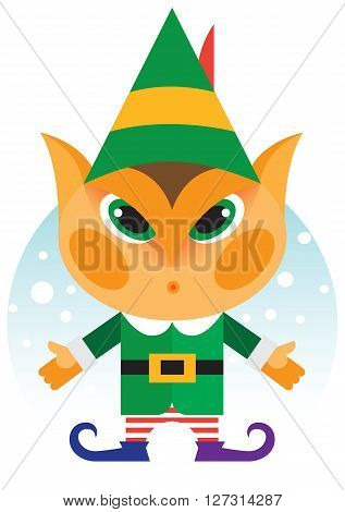 A little fairy character called Christmas Elf