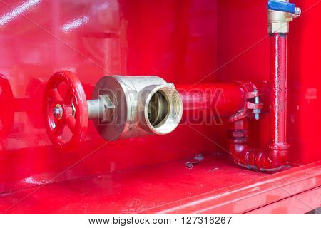 The new of fire hose in fire system