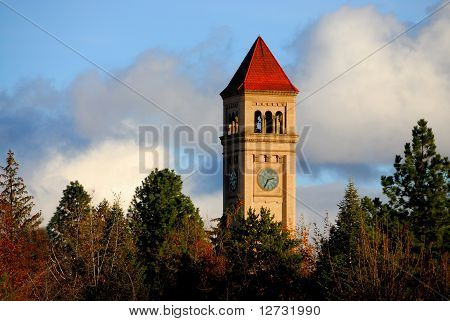 Riverfront Park Clock Tower