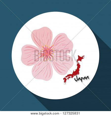 Japan concept with icon design, vector illustration 10 eps graphic.