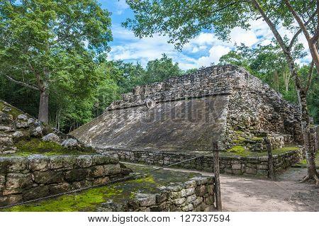Juego De Pelota, Mayan Ballgame Field, Coba, Yucatan, Mexico