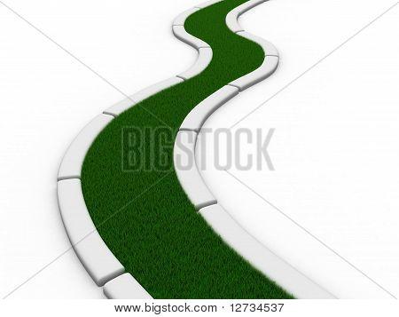 grass track